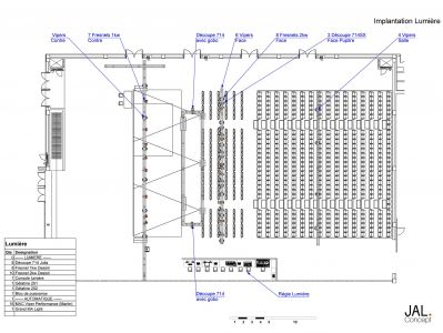 JAL Concept | Implantation Lumière