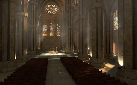 JAL Concept | Cathédrale gothique