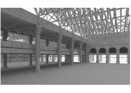 Modélisation lieux 3D
