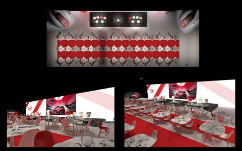 JAL Concept | Planche Rendus